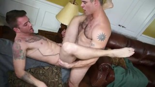 two sexy guys love